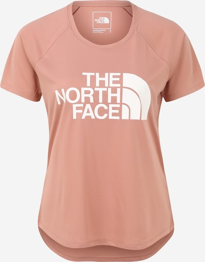 THE NORTH FACE Functioneel shirt in de kleur Rosa / Wit, Productweergave