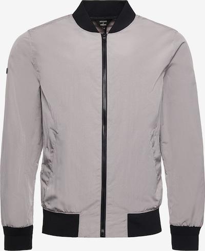 Superdry Tussenjas in de kleur Grijs / Zwart, Productweergave