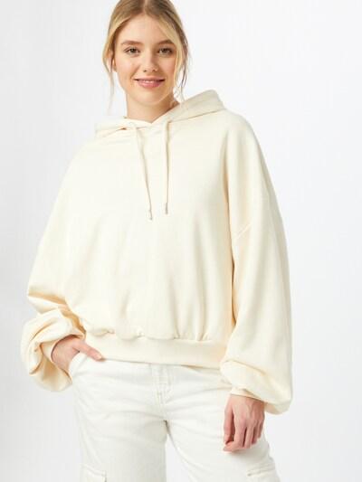 Urban Classics Sweat-shirt en crème: Vue de face