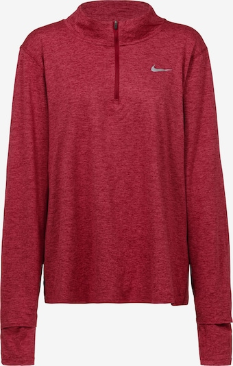 NIKE Performance Shirt in Grey / Red, Item view