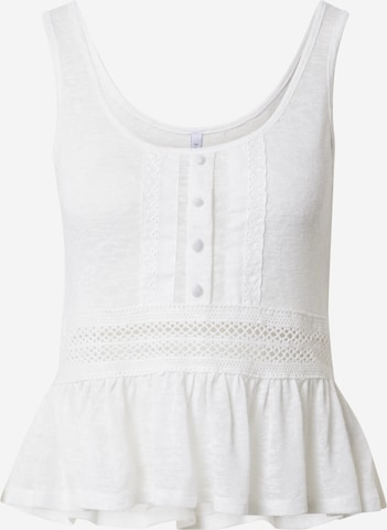 Hailys Top 'Sunny' in White