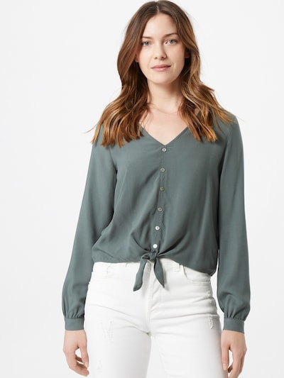 ONLY Blus 'NINA LIFE' i jade, På modell