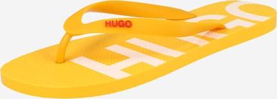 sárga HUGO Ujjelválasztó-pántos szandál 'Onfire', Termék nézet