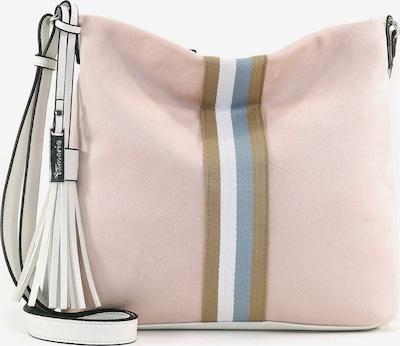 TAMARIS Shoulder Bag in Beige / Pink / White, Item view