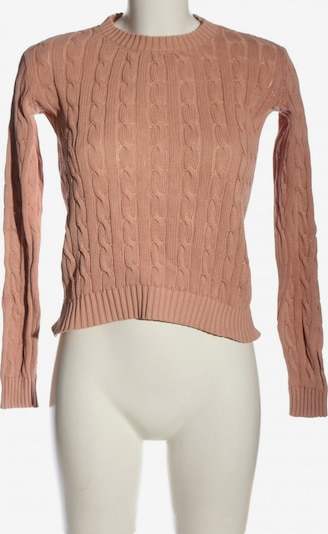 American Apparel Grobstrickpullover in XS in nude, Produktansicht