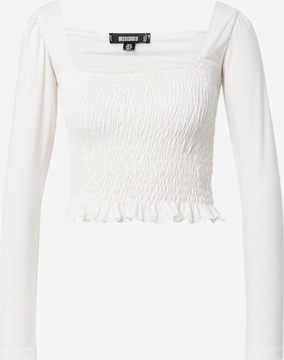 Missguided Shirt in weiß, Produktansicht