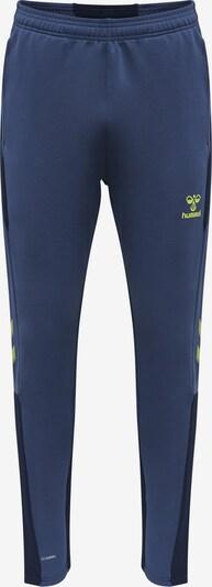 Hummel Sportbroek in de kleur Navy / Neongeel / Zwart, Productweergave