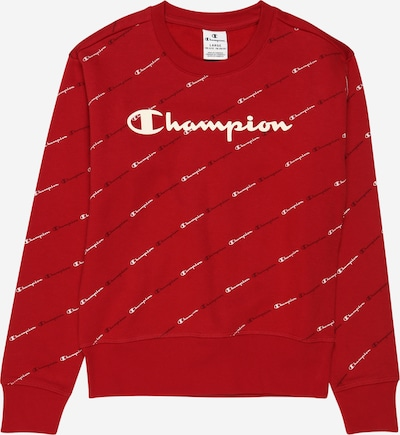 Champion Authentic Athletic Apparel Sweatshirt in dunkelrot / schwarz / weiß, Produktansicht