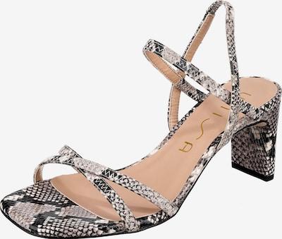 UNISA Sandalette 'Moni' in grau / taupe, Produktansicht