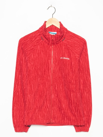 COLUMBIA Fleece in S in feuerrot, Produktansicht
