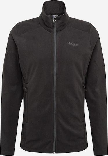 Bergans Функционално поларено яке 'Finnsnes' в сиво / черно, Преглед на продукта