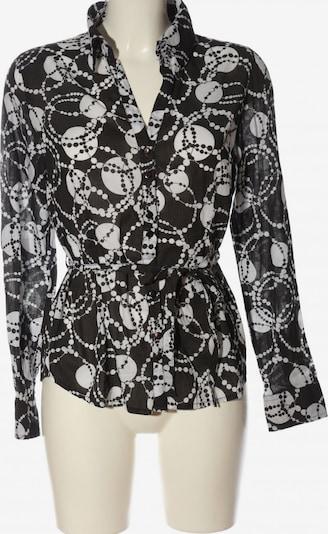 BASE Langarm-Bluse in S in braun / wollweiß, Produktansicht