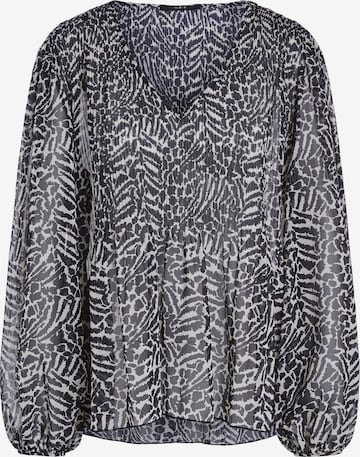 SET Bluse in Schwarz