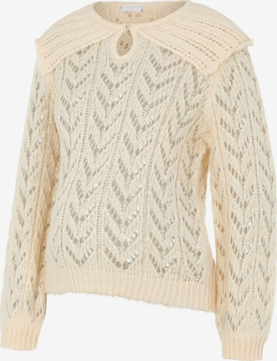 Pieces Maternity Sweater 'Frida' in Wool white, Item view
