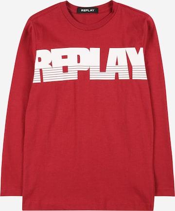 T-Shirt REPLAY en rouge