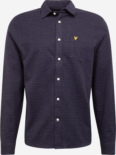 Lyle & Scott Koszula w kolorze niebieska noc / złoty żółty / ciemnoszarym, Podgląd produktu