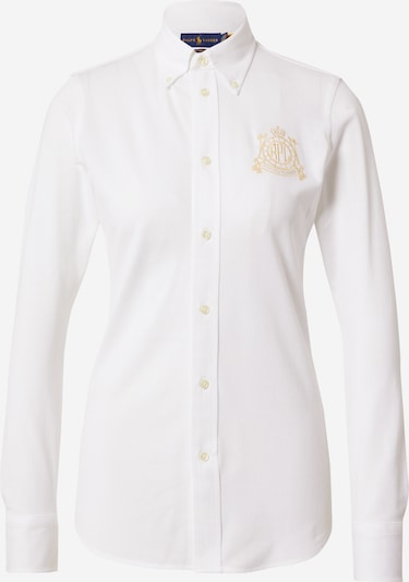 Polo Ralph Lauren Blouse in Gold / Off white, Item view