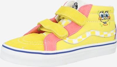 VANS Sneaker in gelb / rosa / weiß, Produktansicht
