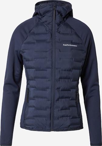 mėlyna PEAK PERFORMANCE Sportinis džemperis 'Argon'