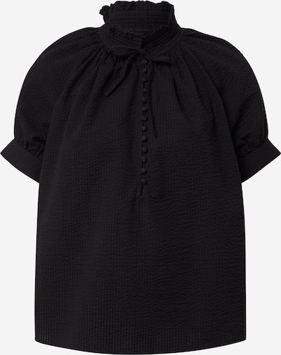 Birgitte Herskind Blouse 'Gajol' in de kleur Zwart, Productweergave