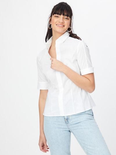 piszkosfehér BOSS Casual Blúz 'Bashini2', Modell nézet