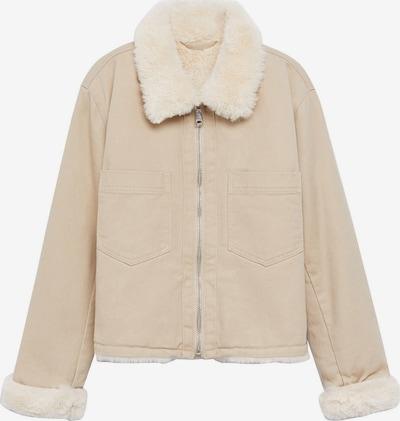 MANGO KIDS Přechodná bunda 'Sky' - velbloudí / barva bílé vlny, Produkt