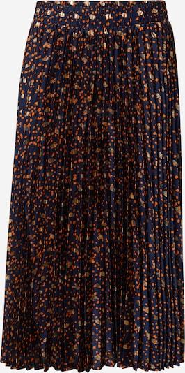 Fustă 'KYRA' Y.A.S pe albastru închis / auriu / portocaliu, Vizualizare produs