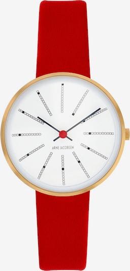 Arne Jacobsen Arne Jacobsen Damen-Uhren Analog Quarz ' ' in rot, Produktansicht