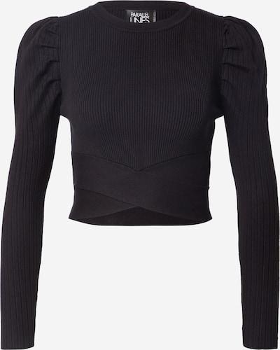 Parallel Lines Jumper in schwarz, Produktansicht