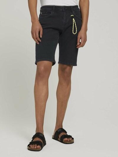 TOM TAILOR DENIM Jeans in de kleur Zwart: Vooraanzicht