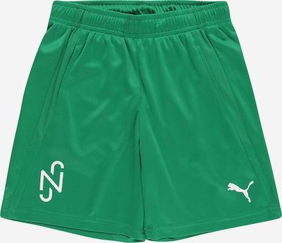 PUMA Sporthose 'Neymar Jr' in grün / weiß, Produktansicht