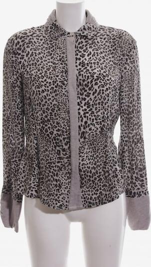 ZUCCHERO Langarm-Bluse in L in hellgrau / schwarz, Produktansicht