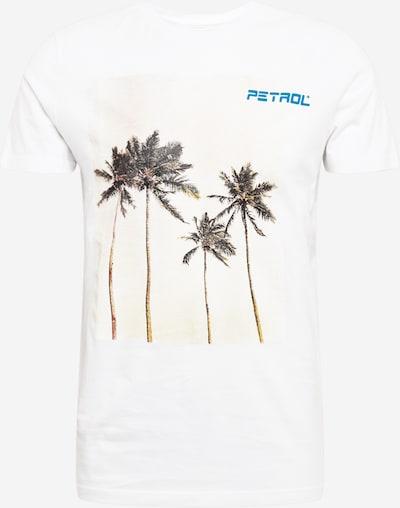 Petrol Industries Särk taevasinine / roheline / loodusvalge, Tootevaade