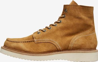 Boots stringati 'Teo' SELECTED HOMME di colore cognac, Visualizzazione prodotti