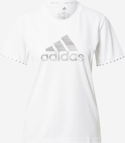 Tricou funcțional 'Bos Necessi' ADIDAS PERFORMANCE pe negru / alb, Vizualizare produs