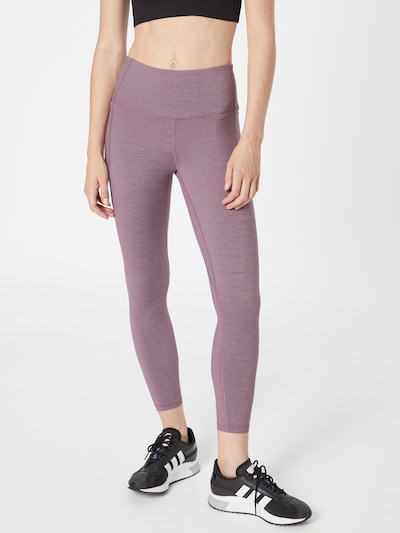 UNDER ARMOUR Workout Pants 'Meridian' in Orchid, View model