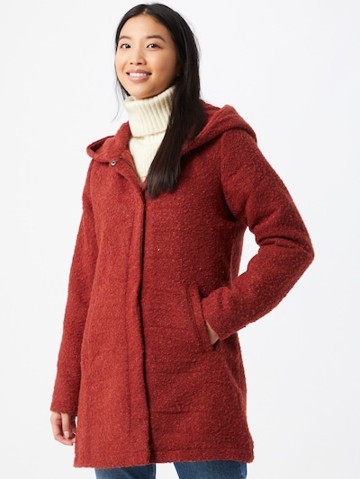 Sublevel Mantel in rostrot, Modelansicht