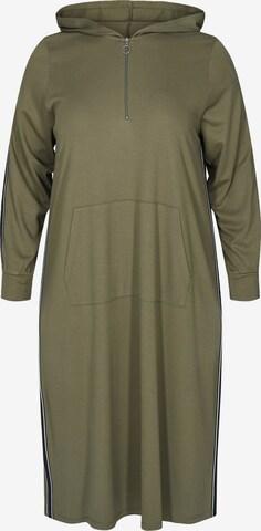 Zizzi Kleid 'Eiris' in Grün