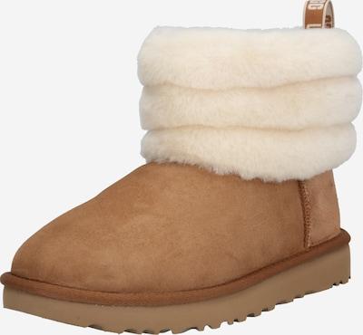UGG Sniega apavi 'FLUFF MINI QUILTED' brūns / balts, Preces skats