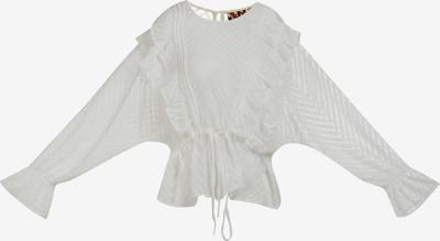 myMo ROCKS Bluse in weiß, Produktansicht