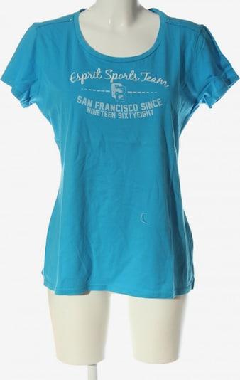 ESPRIT SPORT Print-Shirt in XL in blau / weiß, Produktansicht