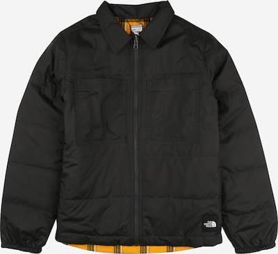 THE NORTH FACE Sport-Jacke in goldgelb / anthrazit / weiß, Produktansicht