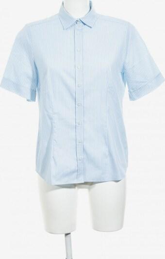 ETERNA Kurzarm-Bluse in M in hellblau / weiß, Produktansicht