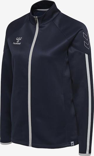 Hummel Sportief sweatvest in de kleur Blauw, Productweergave