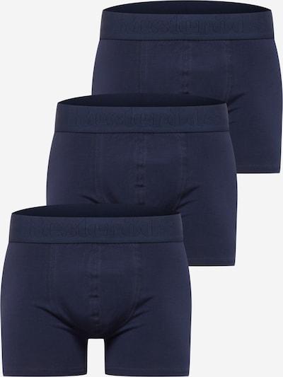 Resteröds Boxer shorts in marine blue, Item view