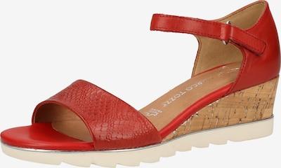 MARCO TOZZI Sandalen in rostrot, Produktansicht