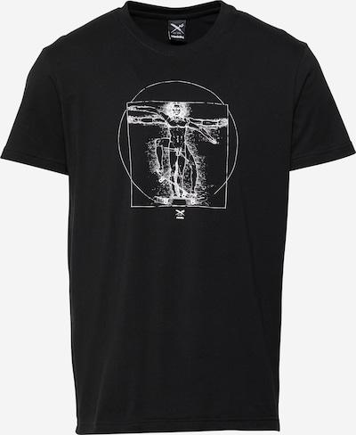 Iriedaily Μπλουζάκι 'Skatevinci' σε μαύρο / λευκό, Άποψη προϊόντος