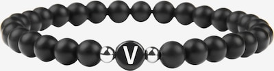 GOOD.designs Armband 'V' in schwarz, Produktansicht