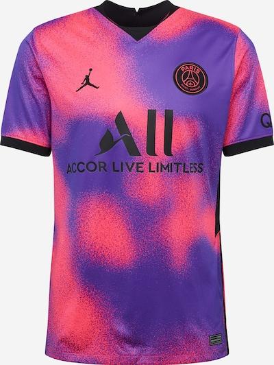 Jordan Trikot 'Paris Saint-Germain 2020/21 Stadium Fourth' in dunkellila / neonpink / schwarz, Produktansicht
