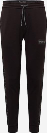 Calvin Klein Hlače u siva melange / crna, Pregled proizvoda